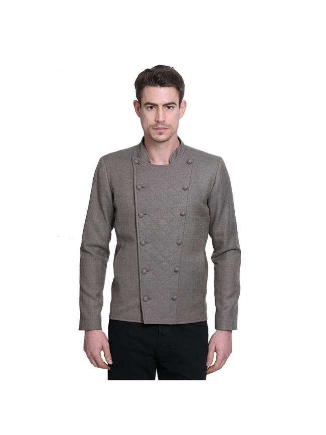 ÉTHOPÉE Jacket in brown  whool