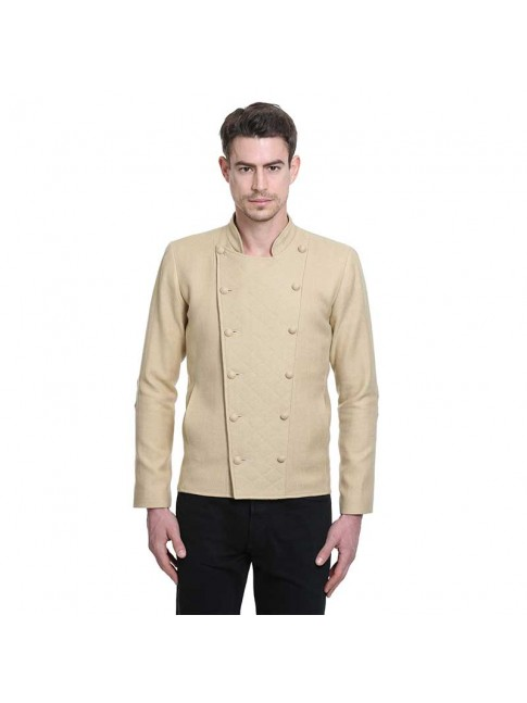 ÉTHOPÉE beige wool Jacket