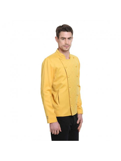 Veste ÉTHOPÉE coton jaune