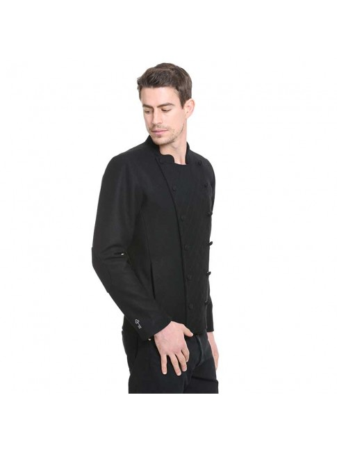 ÉTHOPÉE black wool Jacket