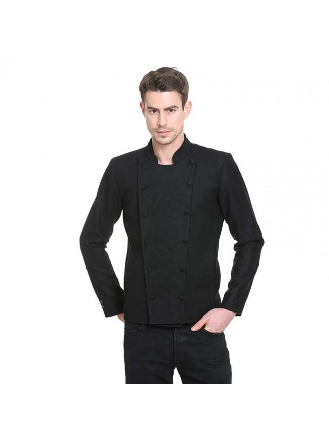 ÉTHOPÉE black wool Jacket