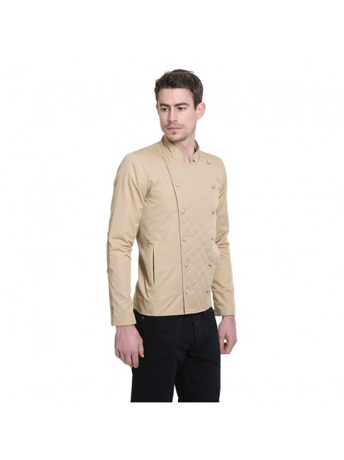 ÉTHOPÉE beige cotton Jacket